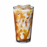 ice latte salted caramel